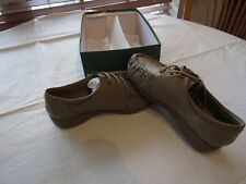 Red Cross shoes 6.5 6 1/2 W Taupe leather upper RCSMOOTHRIDE NOS womens ladies