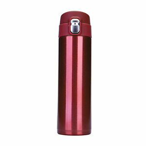500ml Stainless Steel Vacuum Cup Thermos Flask Travel Water Bottle Cup Mug UK