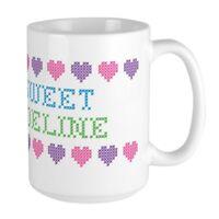 CafePress Sweet ADELINE Coffee Mug, Large 15 oz. White Coffee Cup (585760231)