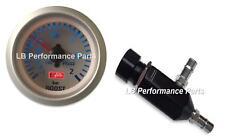 Manuel Boost Controller MBC et gabarit 52 mm Kit (BAR) - toute Essence Turbo Voiture (4 C)