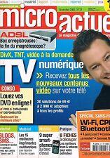 Micro Actuel   N°21   nov 2006 : Tv numérique Spécial sans fil
