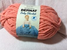 Bernat Baby Blanket Yarn 10.5oz 300g Orange Flamingo