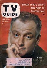 1959 TV Guide November 28 - Art Carney; Bachelor Father; Larry W Hutchenson