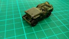 Willis Plastic Toy Jeep Built Model Army Military Car Truck For Diorama WW2 USA