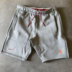 Nike USC Trojans On Field Football Shorts Sz M NCAA Player Issued Side Zip NWOT
