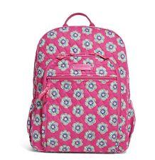NWT Vera Bradley Pink Swirls Flowers Backpack Bag Retired HTF #14457-198 $109
