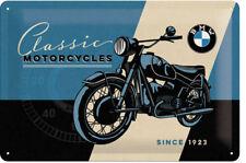 BMW Motorrad Oldtimer Vintage Deko Garage Werbung Logo Poster Schild *1575