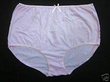 Emmie Womens Briefs Plus Sizes 24 to 42 Cotton Full Briefs Pants Pink & Beige