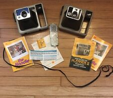 Vintage Instant Camera lot - Kodamatic Pleaser II & The Kodak Handle w/ manuals