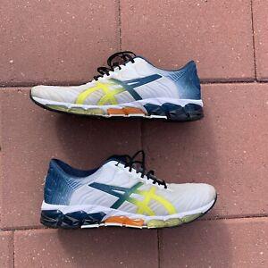 ASICS SPORTSTYLE Men's Running Shoes GEL-QUANTUM 360 5 1021A173 WHITE/SOUR YUZU