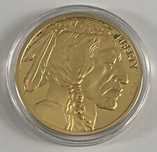 COPY 2011 U.S. $50 BUFFALO GOLD COIN INDIAN HEAD COIN 24-KT PLATED