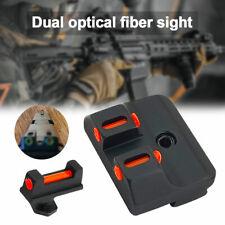 Fiber Optic Front/Rear Tactical Sight Combat Sight for Glock Standard Models