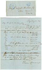 May 22 1847 Troy New York Green & Cramer order for goods by steamboat stampless