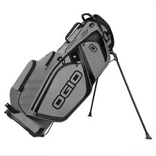 OGIO 2017 Silencer Stand Protective & Quiet 14 Way Top Men's Golf Bag, Slate