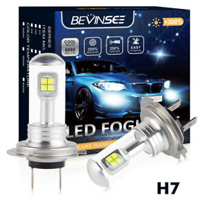 For Mercedes Benz Vito W639 2003-2014 Fog Light Bulbs H7 80W 6500K White Lamp 2X