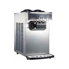 Pasmo 230 Soft Serve Ice Cream Froyo Twin Twist Swirl Countertop Machine