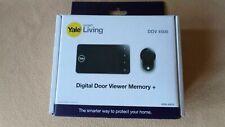 Yale Smart Living Digital Door Viewer Memory + DDV 4500 | New Genuine, Free Post