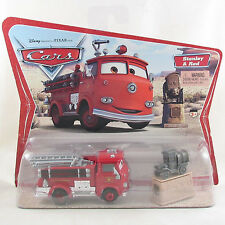 Disney Pixar Cars Red & Stanley fire engine Original Desert series first release