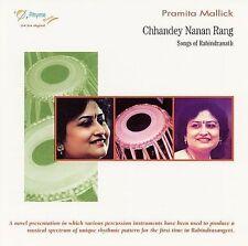 Chhandey Nanan Rang: Songs of Rabindranath by Pramita Mallick (CD,2008,Rhyme)