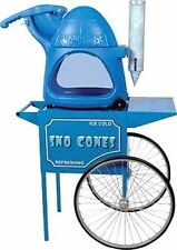 Paragon's The Cooler Snow Cone Machine & Cart Combo - Made in The USA