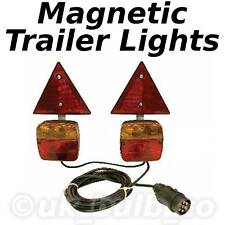 Magnetic Trailer Lights 8m 26ft cable (2.4m 8ft apart)