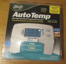 NEW Hunter Auto Temp multi stage heat pump pre-programmed thermostat