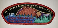 Boy Scout Northern New Jersey Council 2012 Camp Nobebosco 85th Anniversary CSP
