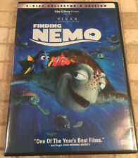 Finding Nemo (DVD, 2-Disc Set) COLLECTOR'S EDITION DISNEY PIXAR MOVIE DORY