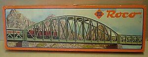 Vintage Rocco HO 05084A 45.5 cm Arched Girder Bridge Boxed (Cab)