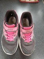 Girls Asics Trainers Size 11 EU 30