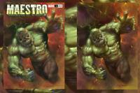 MAESTRO #1 (OF 5) LUCIO PARRILLO EXCLUSIVES