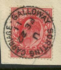 Railway/RPO Pre-Decimal Great Britain Edward VII Stamps