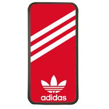 Funda De Movil Carcasa Moviles Modelo Marca Adidas Logotipo Deporte Rojo Blanco