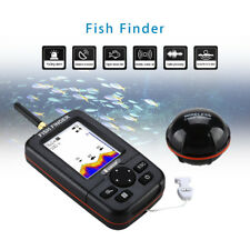 Portable 45M Fish Finder Wireless Remote Sonar Sensor River Capturing Transducer
