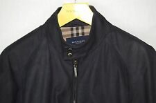 SUPPER BEAUTIFUL!!! BURBERRY MEN AGED LEATHER BIKER RIDING JACKET EU 56 US 46