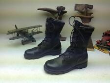DISTRESSED RO-SEARCH BLACK LACE UP MILITARY COMBAT ENGINEER WORK BOOTS 4 XW