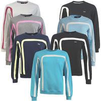 Fila Crew Neck Womens Sweatshirt Fleece Pullover Jumpers Top WH