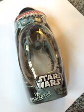 STAR WARS Tie Interceptor diecast imperial empire titanium NIP rare