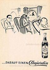 Dujardin Imperial Weinbrand DARAUF EINEN DUJARDIN (D)  Original Anzeige von 1956