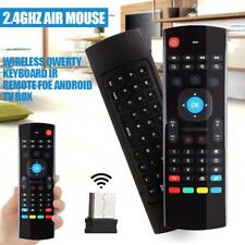 MX3 Portable 2.4G Wireless Remote Control Keyboard Controller Air Mouse F6N