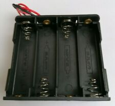 AA Battery Holder, 8 x AA with 12cm wire tails. . (4 x 2) . . NEW