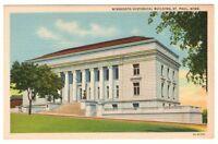 Undated Unused Postcard Minnesota Historical Building St Paul MN