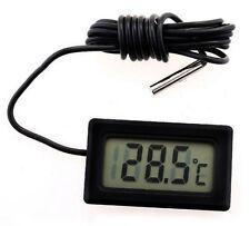 Mini Digital LCD Termómetro La temperatura Sensor Nevera Congelador Termómetro