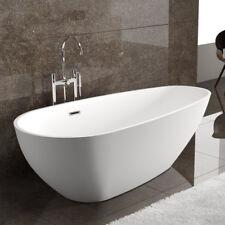 "Dowell 074 59"" Luxury Contemorary Acrylic FREE STANDING Bathtub White"