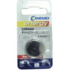 Conrad energy lir2450 batteria ricaricabile a bottone lir 2450 litio 120 mah 3.6