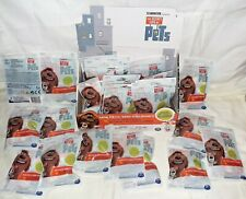 24 Blind Bags w/ Display Case - The Secret Life of Pets Mini Figures - Series 1
