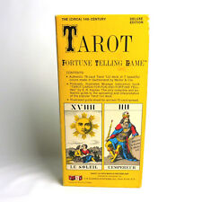 Tarot Fortune Telling Game Deluxe Edition Card Deck U.S. Games VTG 1980 Reprint