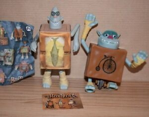 Boxtrolls McDonald's Happy Meal 2013 Wheels Fish Figures Toys Collectable Bundle