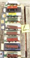 Piko Konvolut 9 Stück 2-achsige Güterwagen Ep.3/4, DR etc. gebraucht erhalten, L