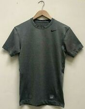 ✅Men's Nike Pro Combat Grey Compression  ✅Short Sleeve Dri-Fit Top Size Medium✅